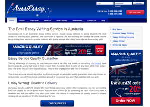 aussiessay- screenshot