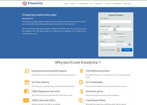 essaycorp.com screenshot